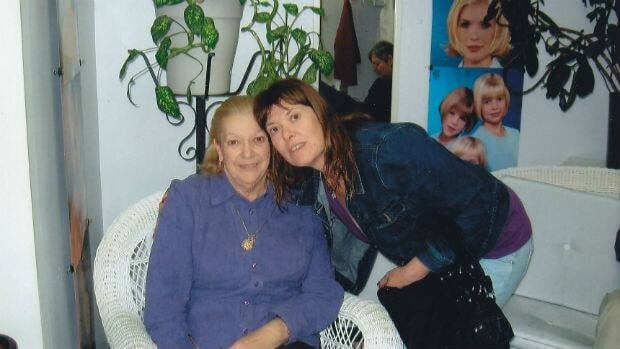 Doloris Perizzolo with her daughter Cindy Allan.