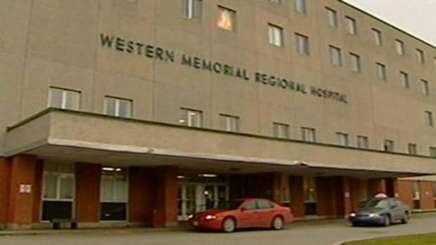 Corner Brook's current hospital, Western Memorial.