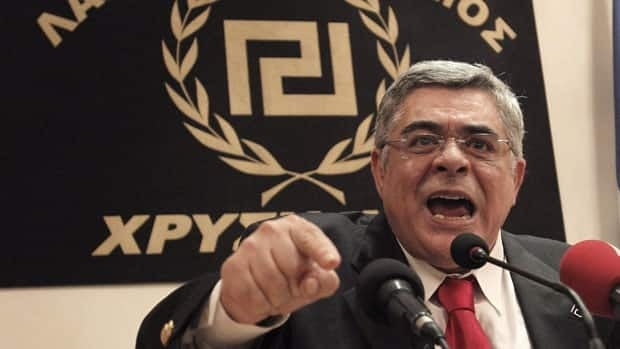 Greece's ultra-nationalist, extreme right party Golden Dawn, led by Nikolaos Michaloliakos, has been accused of holding neo-Nazi views. It was able to get seven per cent of the vote on Sunday and 21 seats in the Greek parliament.