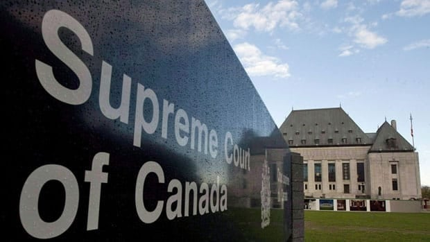 The Supreme Court in Ottawa began hearing a case Wednesday that pits freedom of expression against laws banning hate speech.