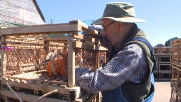 Fishermen spent Sunday setting up their lobster traps for the start of the season.