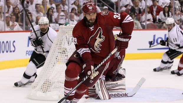 Michal Rozsival had a goal and 12 assists in 54 games for the Phoenix Coyotes last season.