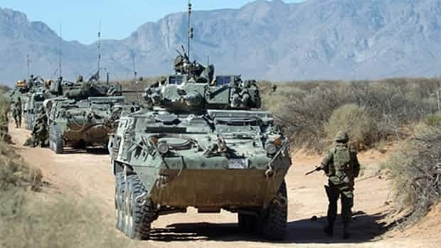 The federal government is spending about $1 billion on the project to upgrade 550 light armoured vehicles (LAVs) used by the Canadian Forces.