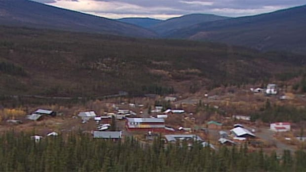 The small community of Keno City, Yukon. The region has yielded millions of ounces of silver over the last century, but there's been no working mine there since 2013.