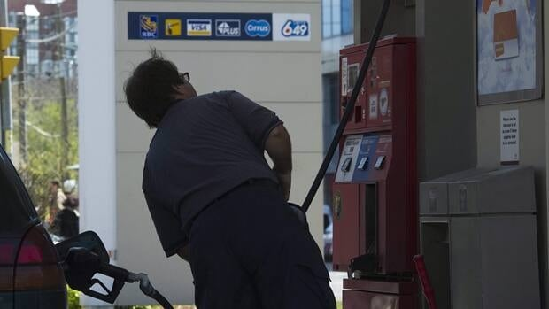 The average price at the pumps in the Greater Toronto Area on Thursday is nearly $1.37 per litre.