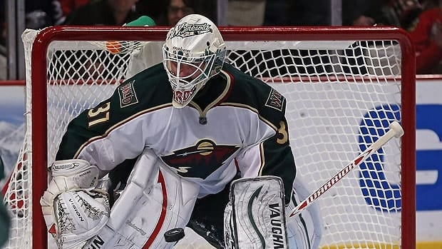 Minnesota Wild goalie Josh Harding was diagnosed with multiple sclerosis in late 2012.