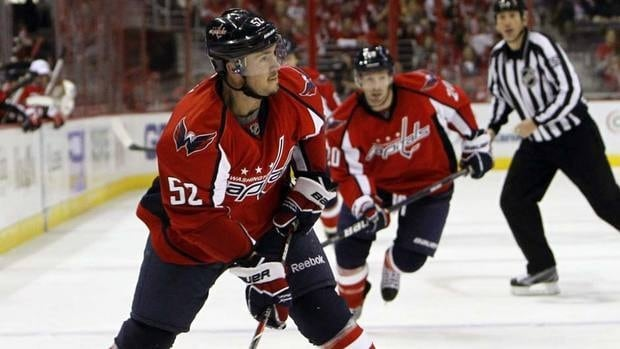 Washington Capitals defenceman Mike Green has played in only 10 games this season.