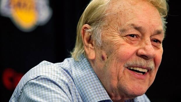 Jerry Buss won 10 NBA titles after buying the Lakers in 1979.