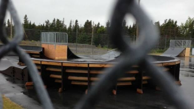 A new skate park in Bay Roberts will remain closed until cameras are installed.