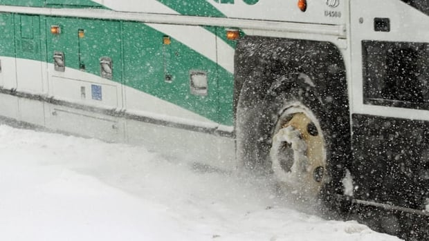 The winter storm has caused GO Transit to move to an adjusted winter storm schedule on Friday.