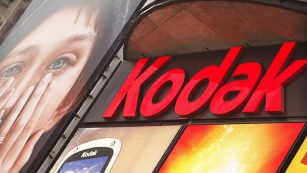 A Kodak screen is seen at Times Square in New York on Jan. 13, 2012.