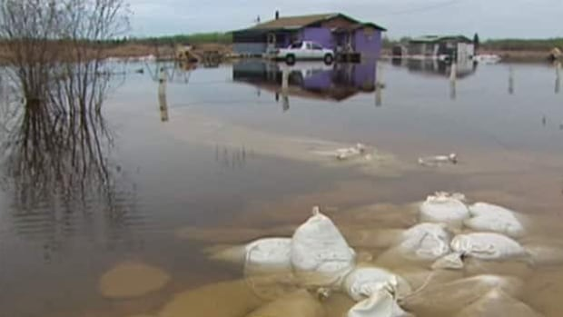 Flood waters destroyed the Lake St. Martin First Nation in the spring of 2011.