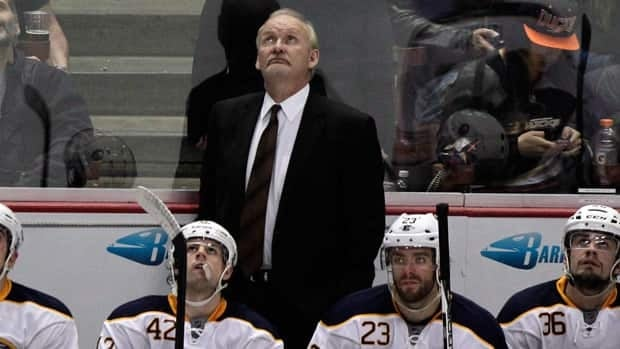 Buffalo Sabres head coach Lindy Ruff, seen in 2012, couldn't get his team back on track after they won their first two games.