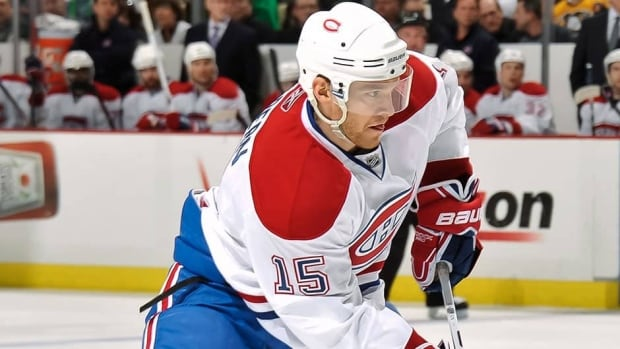 Centre Jeff Halpern returns to Montreal for the second time in his 13-year career