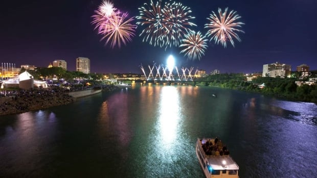 The Saskatoon Fireworks Festival is one of the events taking place this weekend.