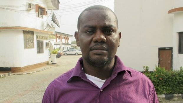 Harrison Okene, 29, spent two days trapped underwater after a tugboat he was working on capsized in the ocean.