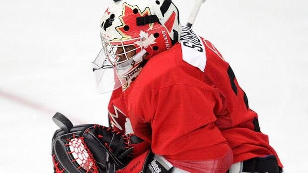 Canadian goalie Malcolm Subban was less than stellar in his team's 3-2 pre-world junior hockey championship loss to host Finland on Thursday, allowing a pair of power-play goals.