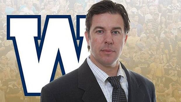 Kyle Walters is the new acting GM for the Winnipeg Blue Bombers.