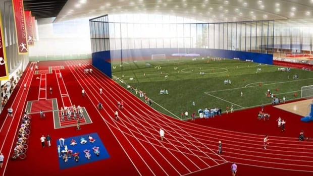 In 2013, city council approved a plan to locate a $200-million fieldhouse at Foothills Athletic Park.