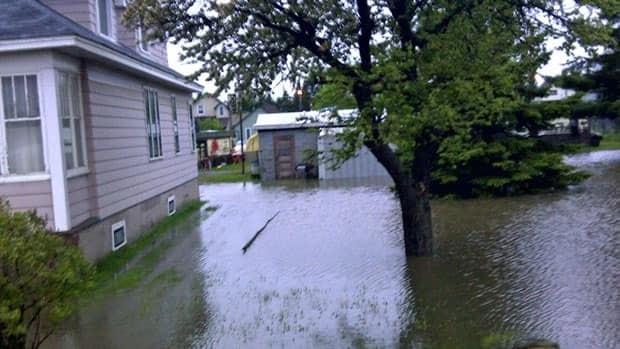 Hundreds of Thunder Bay area residents are reporting flooded basements.