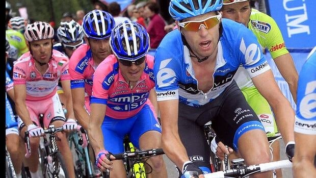Victoria's Ryder Hesjedal became the first Canadian to win one of cycling's three major tour races when he won the Giro d'Italia last month.