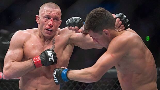 The rise of Canadian UFC champion Georges St.-Pierre has increased the sport's mainstream popularity.