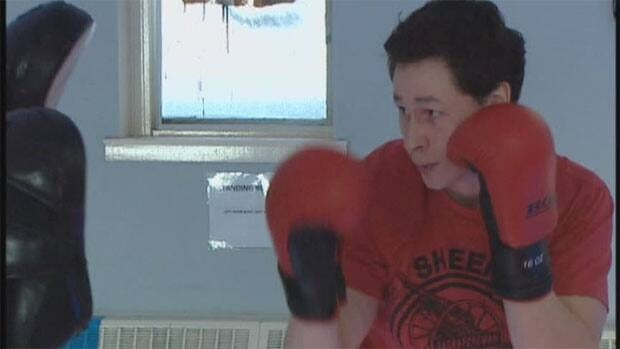 Jeremiah Hill won the Lightweight Championship at the R U Tuff Enuff amateur boxing even in Prince Albert.