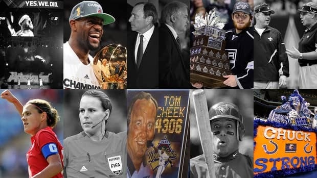 There was no shortage of storylines in 2012, with plenty of protagonists and antagonists making things interesting in the world of sports.