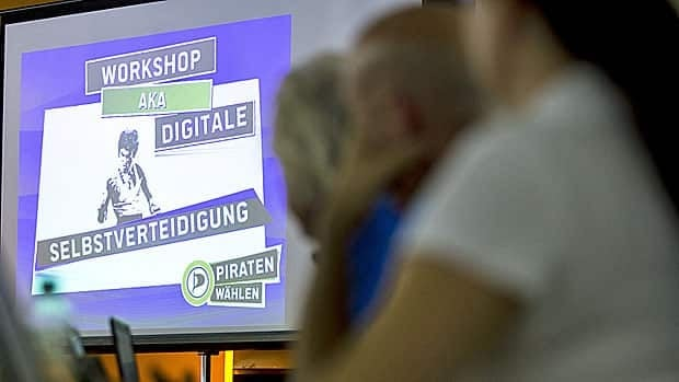 German web users attend a Crypto Party, a workshop on digital self-defence organized by the Pirate Party in Berlin earlier this month. Later this week, Mozilla, the company that developed the Firefox browser, plans to unveil its own online workshops and standards around web privacy.