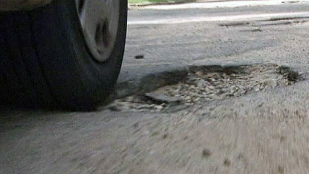 Winnipeg is facing one of its worst-ever years for potholes but a businessman with an eye for the mayor's chair says he knows a way to make those holes go away.