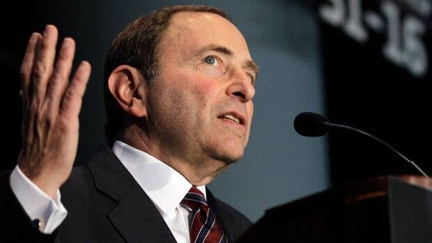 Commissioner Gary Bettman is involved in trying to negotiate a complex collective agreement with NHL players.