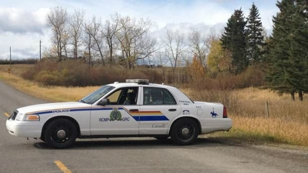 RCMP are investigating the discovery of remains near Cochrane, Alta.