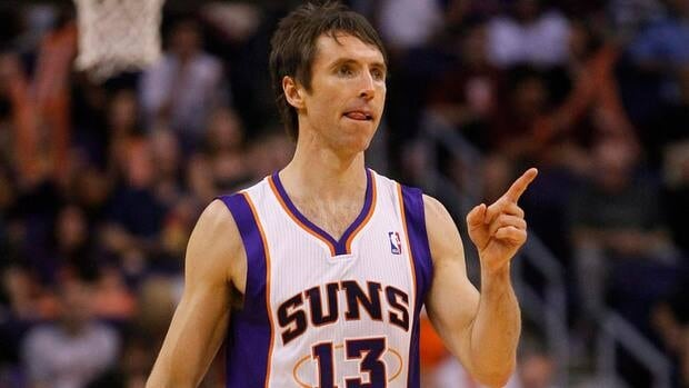 Phoenix Suns point guard Steve Nash led Canada to a seventh-place finish at the 2000 Sydney Olympics.