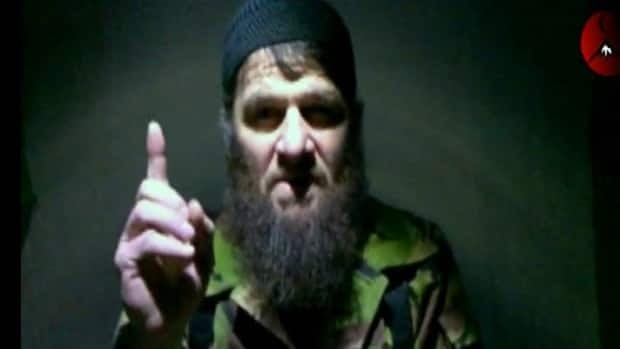 Doku Umarov, seen in an undated video, had previously announced an end to violence that targets civilians.
