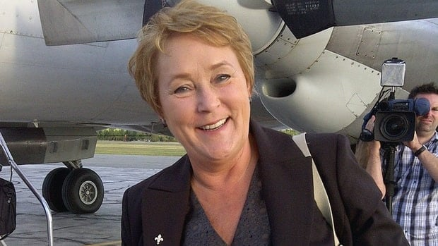 Marois' end of campaign push in the Rouyn-Noranda riding shows she's not content to keep what's hers. She wants a majority.
