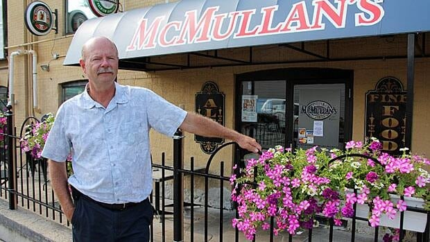 Chuck McMullan, the owner of McMullan's on King, says he's disappointed he has not heard back from city staff on what should be done about the building.
