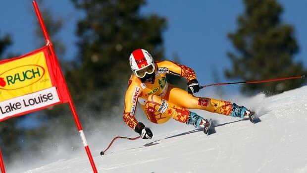 Canadian skier Kelly Vanderbeek, shown in this 2009 file photo, officially retired from the sport on Saturday.