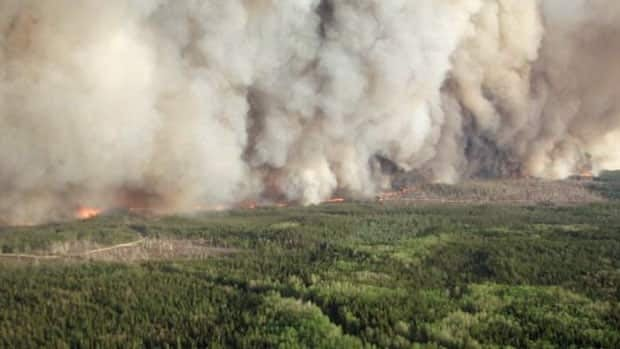 The Timmins 9 fire has been settled slightly by cooler temperatures and some rain.