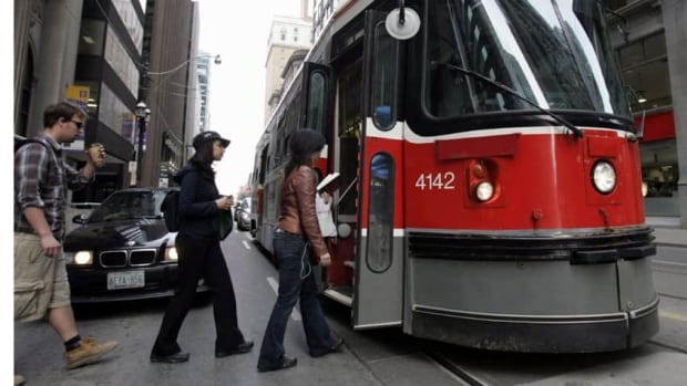 The TTC says ride-sharing services could complement its traditional network.