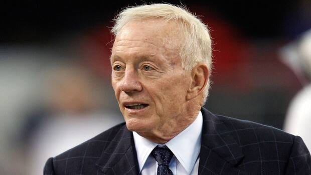 Jerry Jones and the Cowboys lost $10 million for overloading contracts during the uncapped 2010 season.