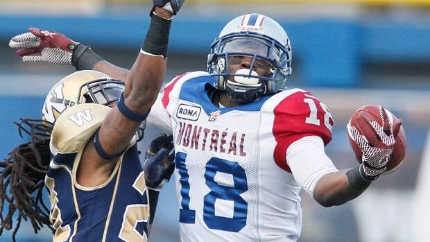 Montreal's Jamel Richardson made this one-handed grab during a 2012 game.
