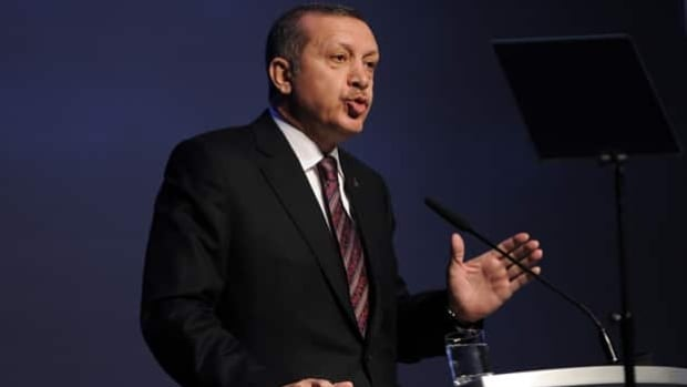 Turkish Prime Minister Recep Tayyip Erdogan made one final impassioned pitch on behalf of Istanbul's 2020 Olympic bid prior to departing Wednesday for Buenos Aires, Argentina, where the IOC will vote Saturday.
