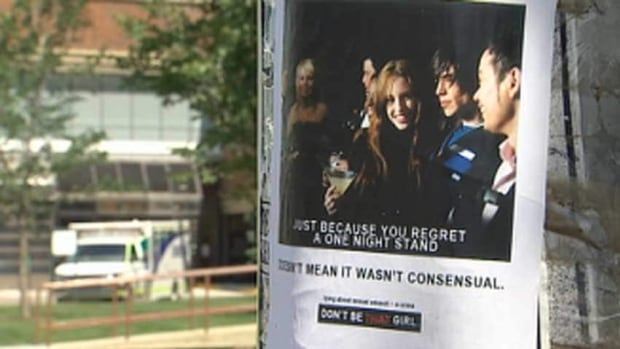 'Men's rights' group behind sexual assault posters