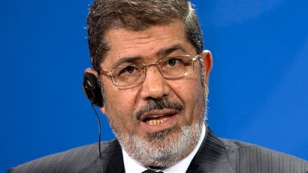 Egypt's President Mohammed Morsi downplayed the violence in the Suez Canal provinces on a visit to Germany on Wednesday.