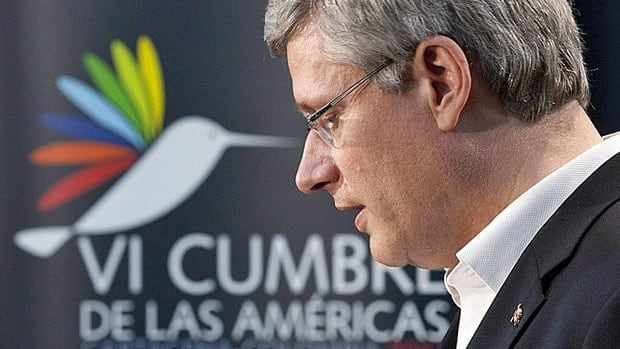 Prime Minister Stephen Harper has drawn the displeasure of the Venezeulan government for his statement following the death of president Hugo Chavez this week. Venezuela has protested the statement as 'insensitive.'
