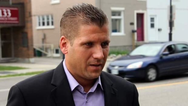 Matthew Waltenberry is suing the Waterloo Regional Police Service for $900,000, alleging an officer stole naked photos from his house and distributed them among other officers.