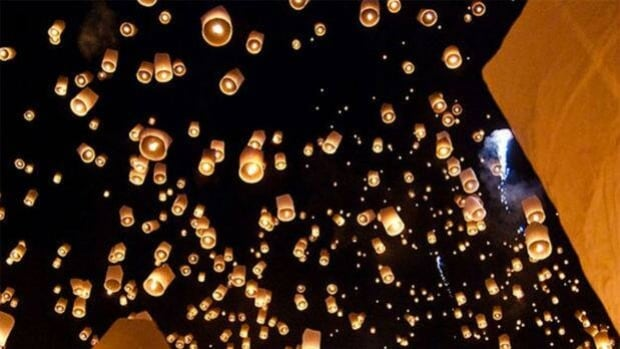 A concerned campers group wants flying lanterns banned in Ontario.