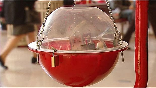 Salvation Army Kettle ~ Sally ann campaign saved by late donation surge cbc news