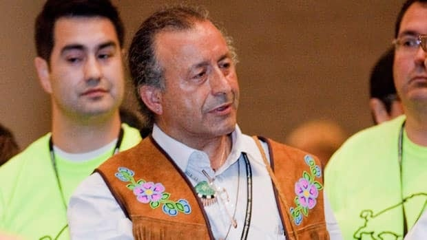 Dene National Chief Bill Erasmus at the AFN national chief election in Toronto in July. Erasmus says Canada doesn't have the legal authority to make the funding cuts to aboriginal organizations it has announced.