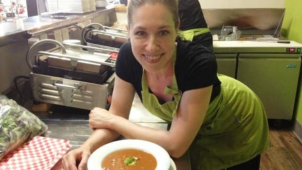Natasha Frank, chef at Bistro Nash, says gazpacho is a great summer supper idea. Creamy and cool, freshen it up with pureed avacado, lime juice and cilantro.